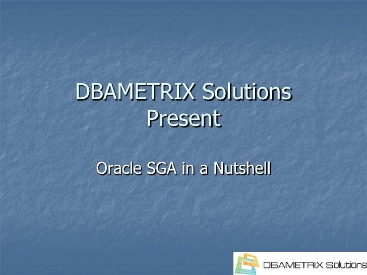 Remote DBA team-1Z0-042 Oracle Sga In Nutshell Oracle Dba Learn By Presentation