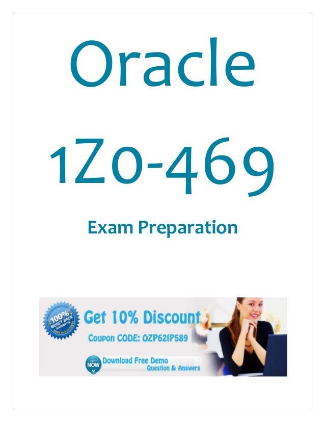 Oracle1Z0-469Exam Preparation