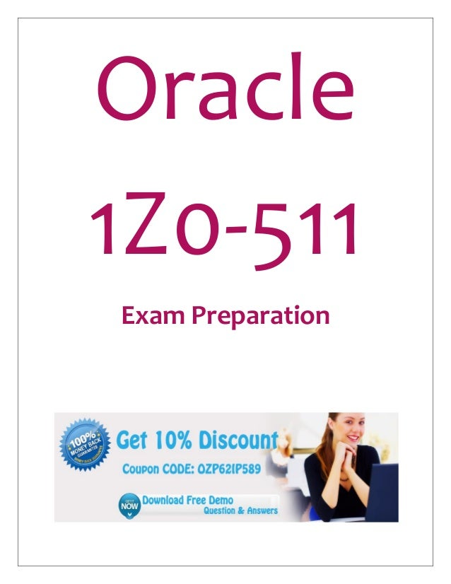 Oracle 1Z0-511 Exam Questions & Answers Free PDF Demo