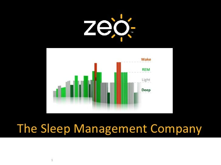 The Sleep Management Company<br />1<br />