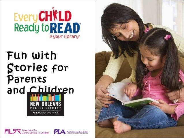 Fun withStories forParentsand Children
