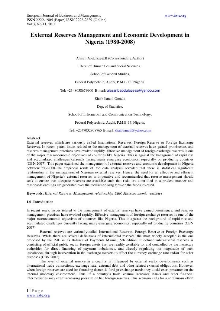 European Journal of Business and Management                                                  www.iiste.orgISSN 2222-1905 (...