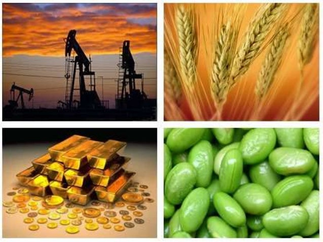 Commodity noon session