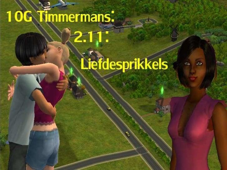 10G Timmermans: Hoofdstuk 2.11.2: Liefdesprikkels