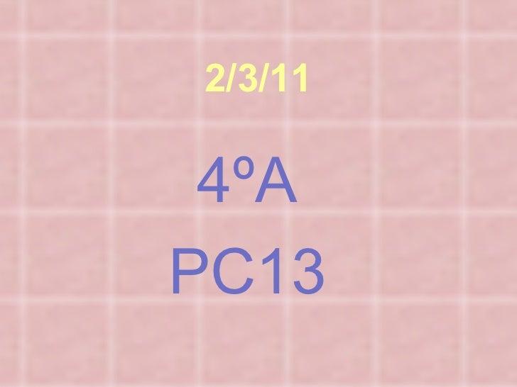 2/3/11 4ºA PC13