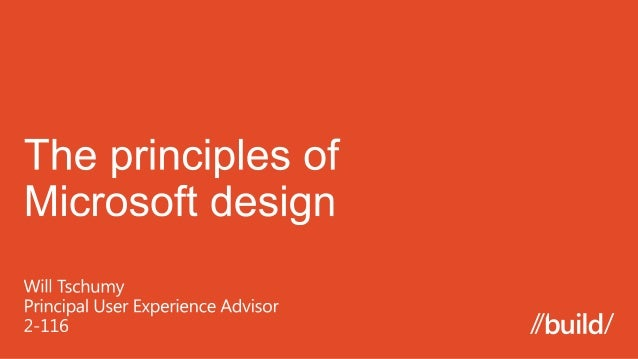 The Microsoft design language (by Will Tschumy)