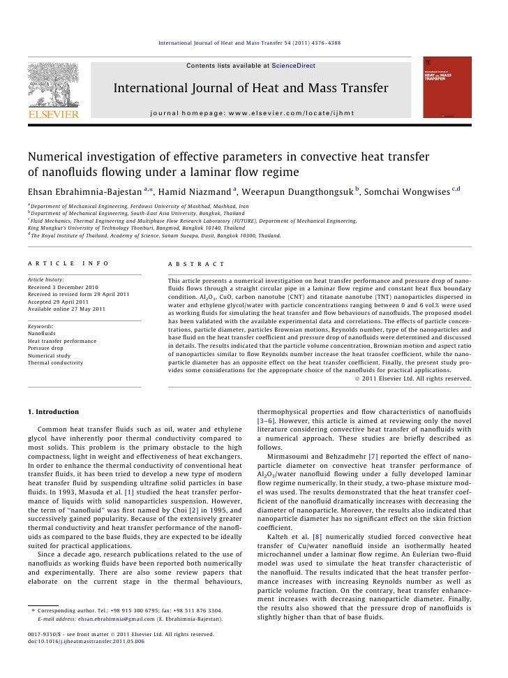 International Journal of Heat and Mass Transfer 54 (2011) 4376–4388                                                       ...