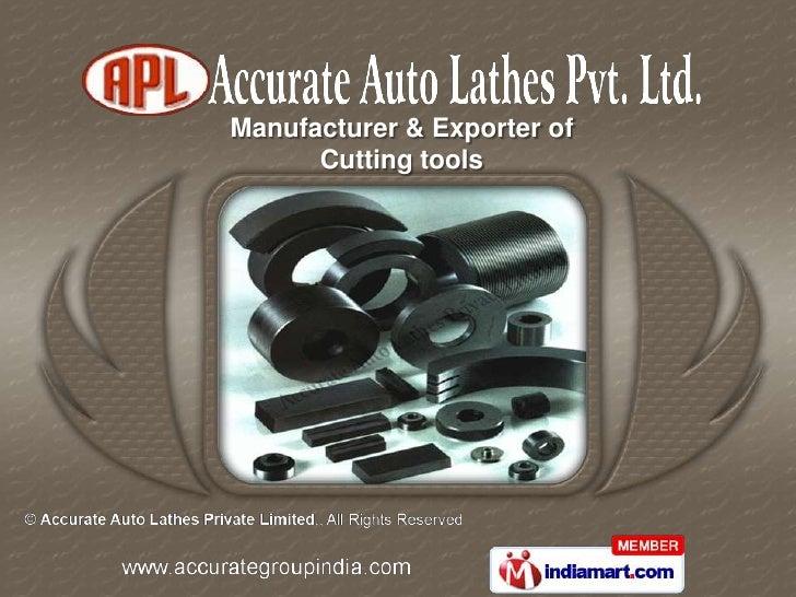 Manufacturer & Exporter of      Cutting tools