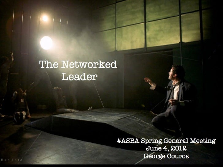 The Networked Leader - #ASBA