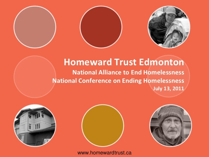 Homeward Trust Edmonton      National Alliance to End HomelessnessNational Conference on Ending Homelessness              ...