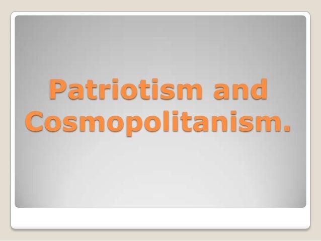 патриотизм и космополитизм 2