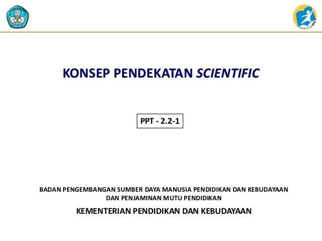 2.2.1 konsep pendekatan scientific rev final