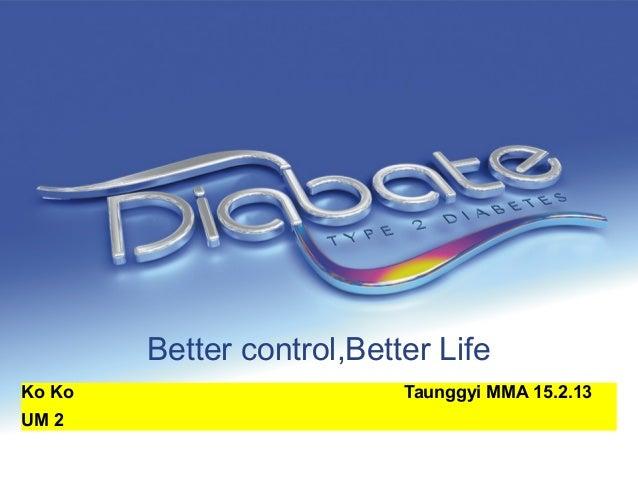 Better control,Better Life Ko Ko Taunggyi MMA 15.2.13 UM 2