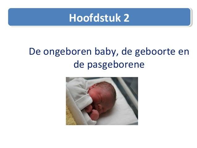2. ongeboren baby, geboorte en pasgeborene PBLO-V