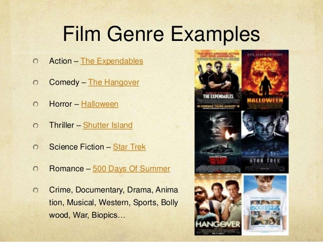 how to find the genre of a movie