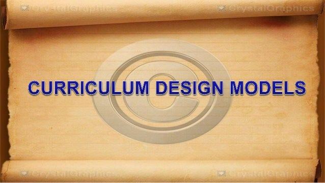 subject design curriculum Home lets  toolkit for learning and teaching  curriculum design main menu  this approach to design is not only shaped by knowledge of your subject but by the.