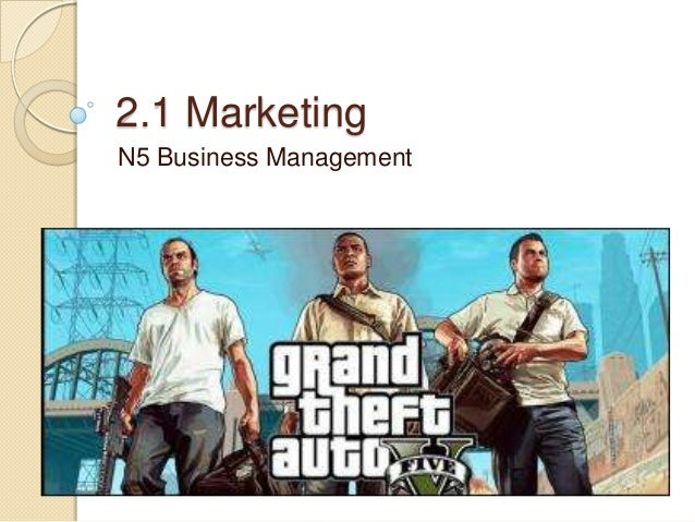 2.1 Marketing N5 Business Management