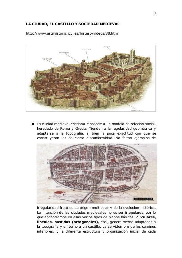 2.3.6 ciudad, castillo y sociedad medieval