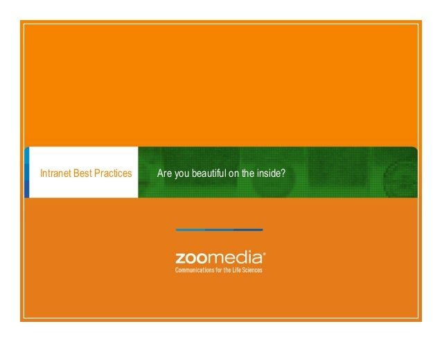 Zoomedia Intranet Best Practices