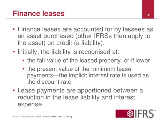Accounting For Leases Examples