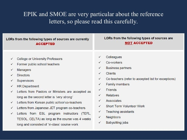 Epik Letter Of Recommendation Example