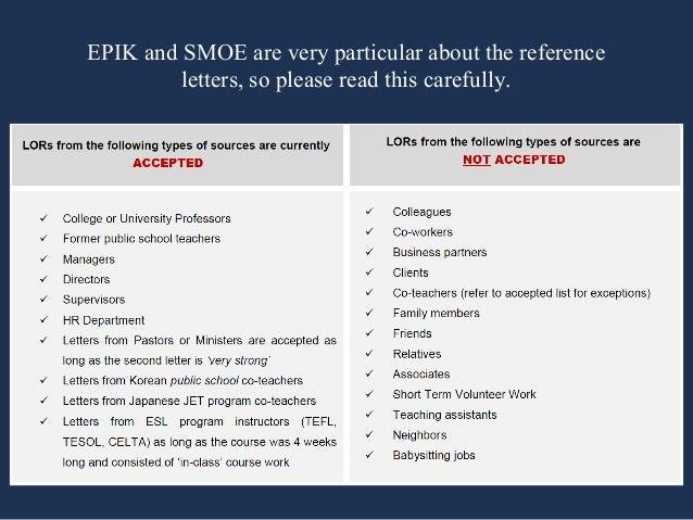 Epik Letter Of Reference