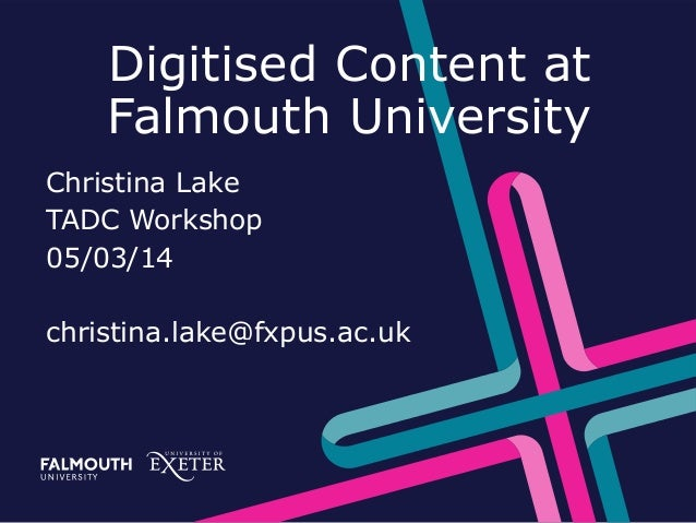 Christina Lake - Falmouth University - Talis Aspire Digitised Content