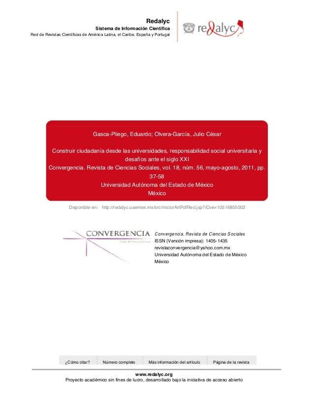 Disponible en: http://redalyc.uaemex.mx/src/inicio/ArtPdfRed.jsp?iCve=10516855002 Redalyc Sistema de Información Científic...