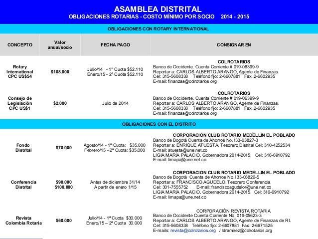 Asamblea Distrito Distrito 4271 Asamblea