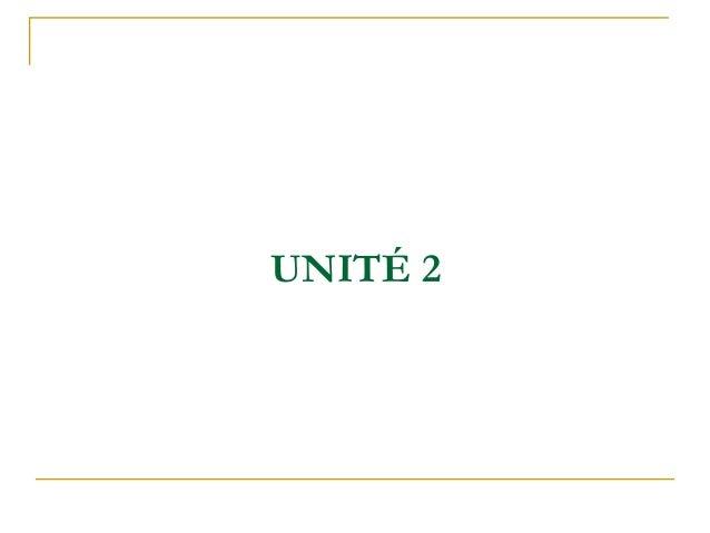 UNITÉ 2