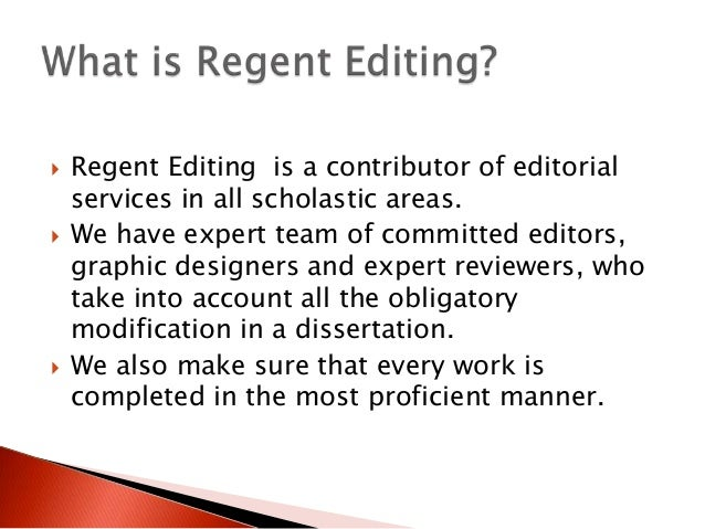 Writing Dissertation Proofreading