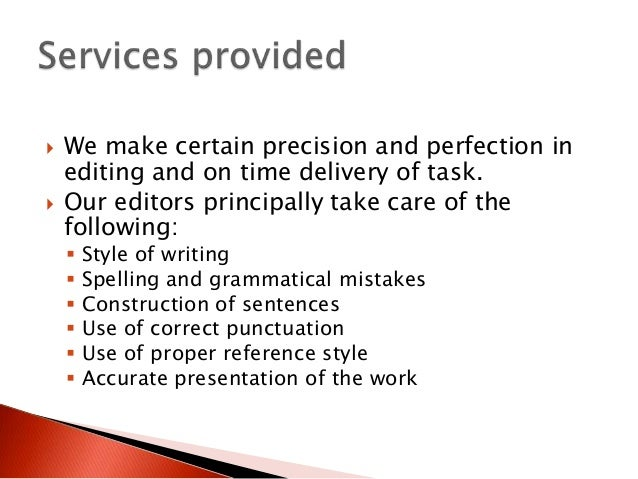 What Are Editing Dissertation Services, Anyway?