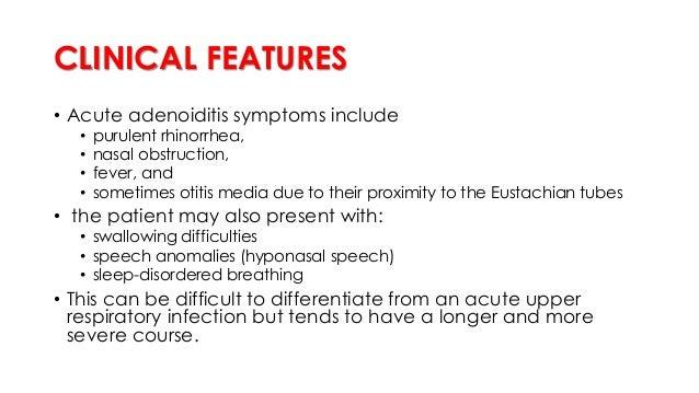 Adenoid Facies Adenoid facies or long face