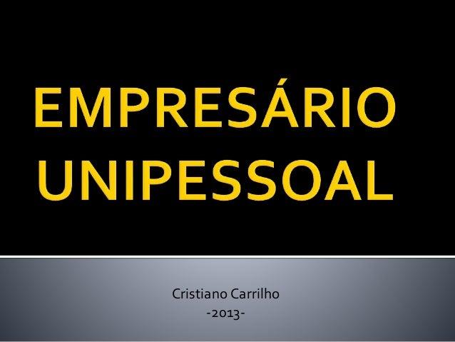 Cristiano Carrilho -2013-