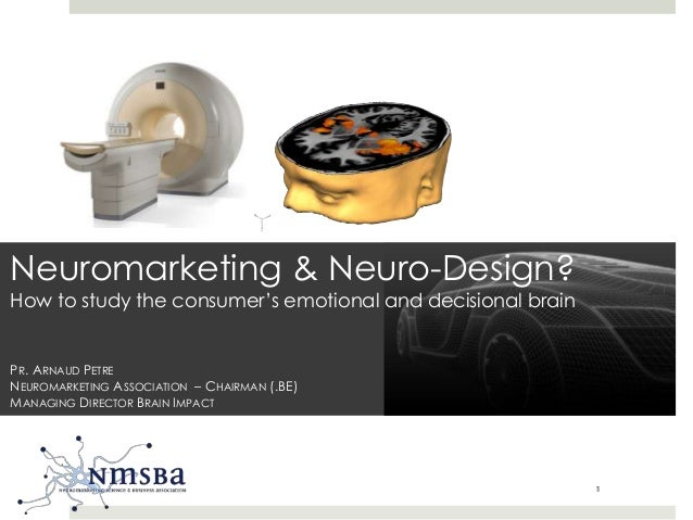 Neuro-design with a fMRI brain scanner, let's neuromarketing!