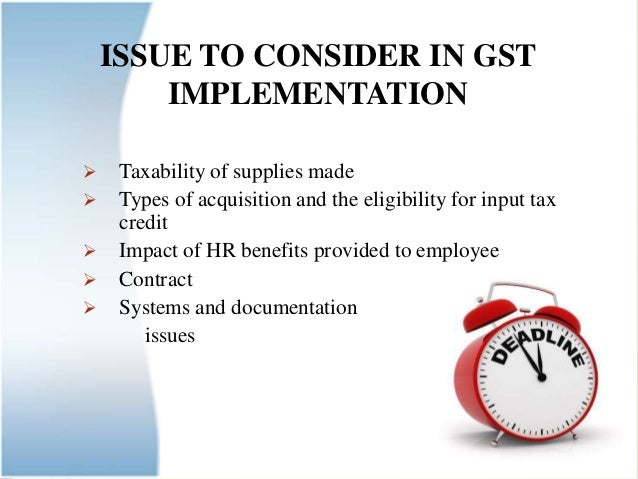 implement GST in Business.