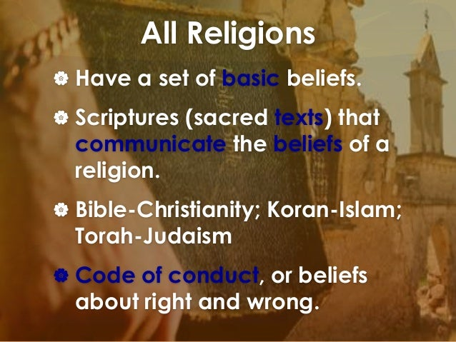 basic characteristics of judaism christianity and islam Belief systems - christianity, judaism, and islam the basic teachings of christianity will be more or share many principals and characteristics such.