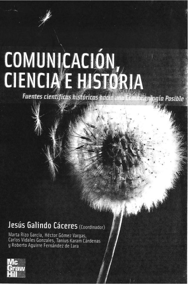 """Fuentes tien"""" i Ki (f7; ' """"      Jesús Galindo Cáceres (Coordinador)  Marta Rizo García,  Héctor Gómez Vargas,  Carlos Víd..."""