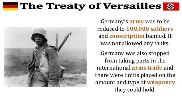 How was the german population affected by the treaty of versailles?