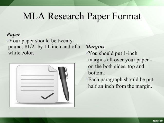 guidelines for writing a research paper in mla