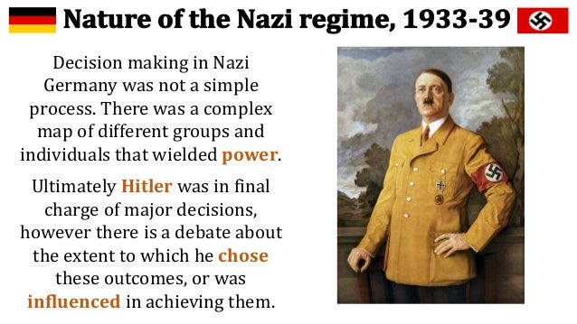 to what extent was hitler responsible World war two taking place in 1939 is a turning point in history the war happened because of a combination of multiple factors the growth of different forms of totalitarianism, the harshness of the treaty of versailles, the policies of nations, the w.