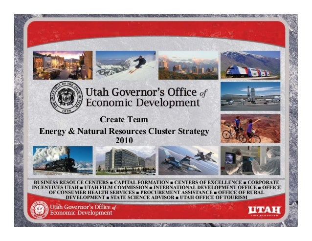 Energy and Natural Resources Cluster Strategy