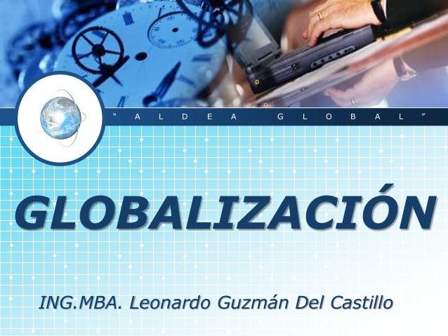 (2.1)globalización