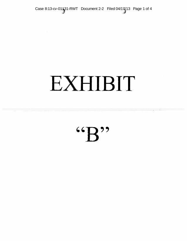 Exhibit B, letter from dealer to Fisker