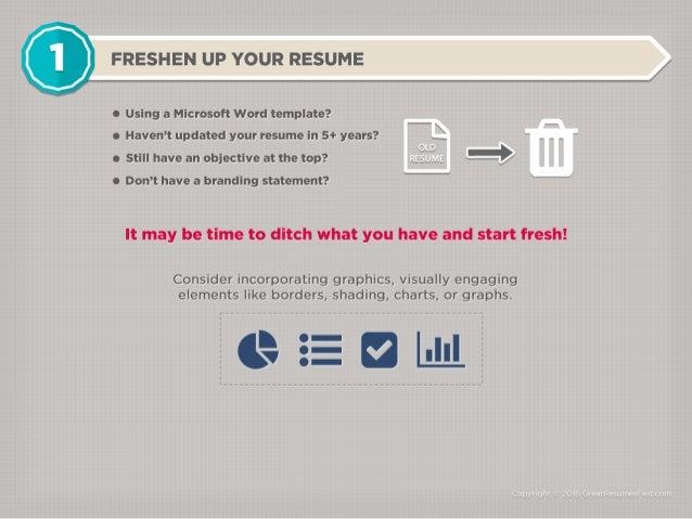 Resume tip tricks