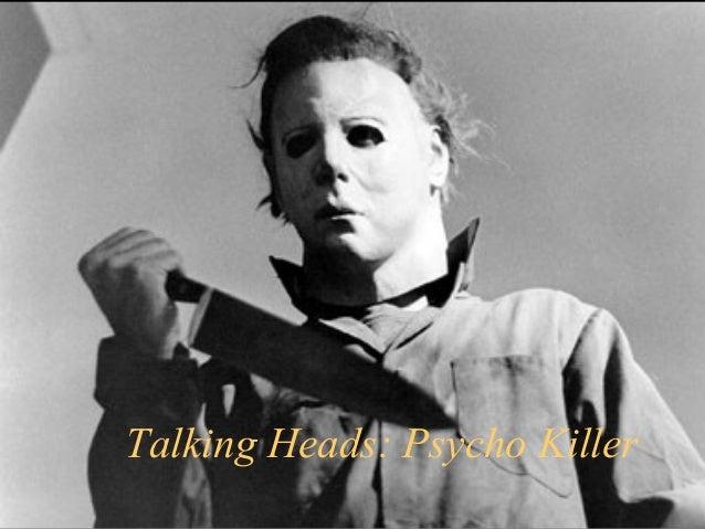 Talking Heads: Psycho Killer