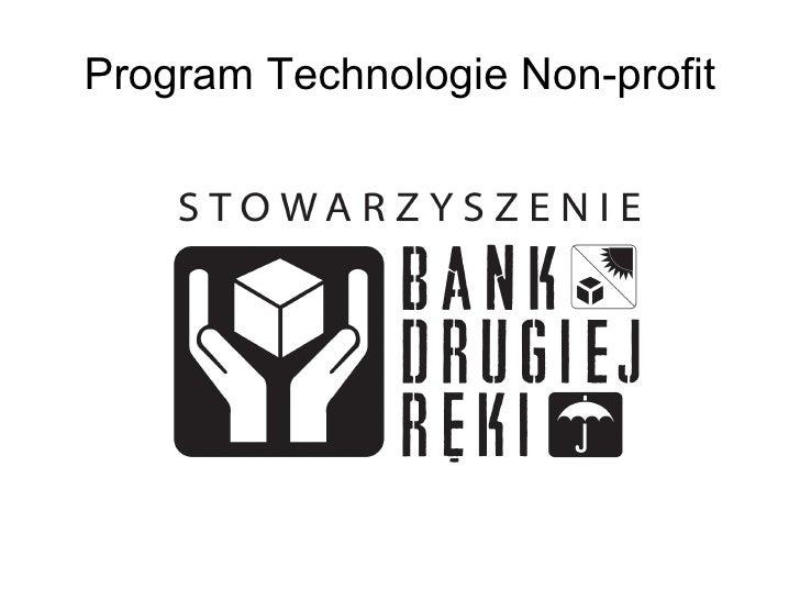 Program Technologie Non-profit