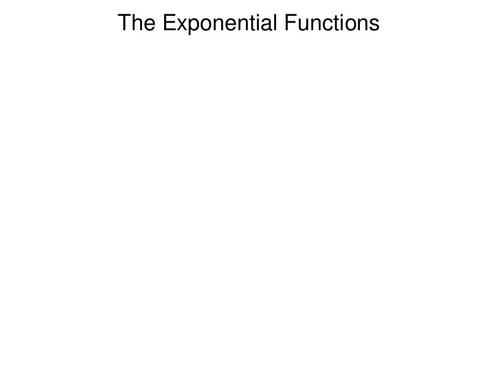 2.2 exponential function and compound interest