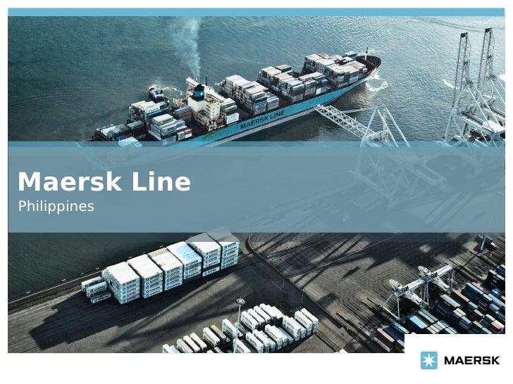 Maersk Batangas presentation