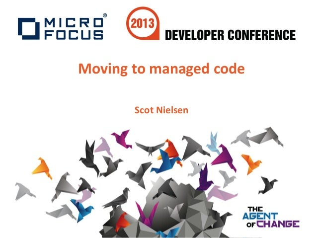 Moving to managed codeScot Nielsen